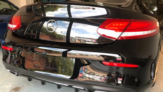Paint Correction Mercedes.