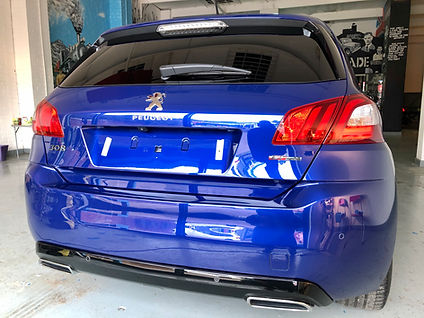 Peugeot 308 GT Line Paint Correction.HEI