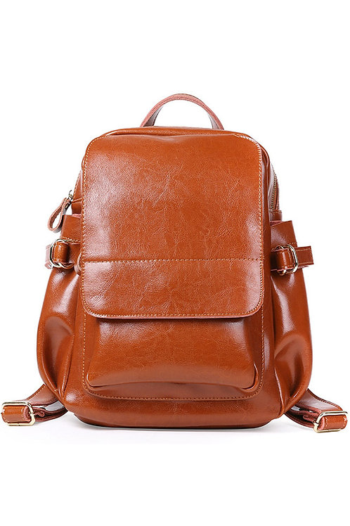 Leather Luxury Large Backpack