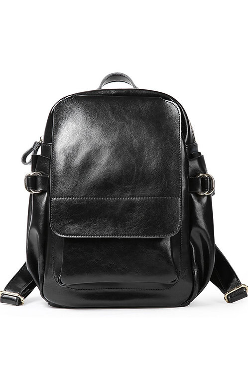 Leather Luxury Large Backpack
