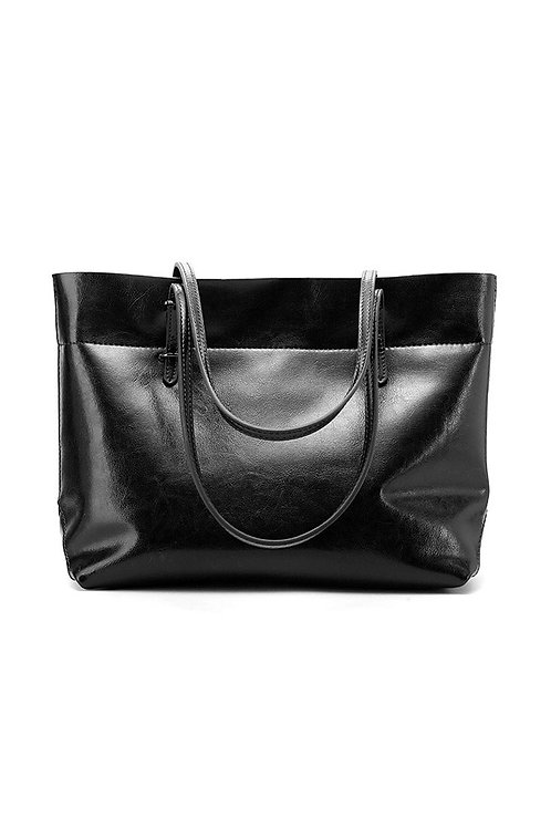 Simpe Leather Tote
