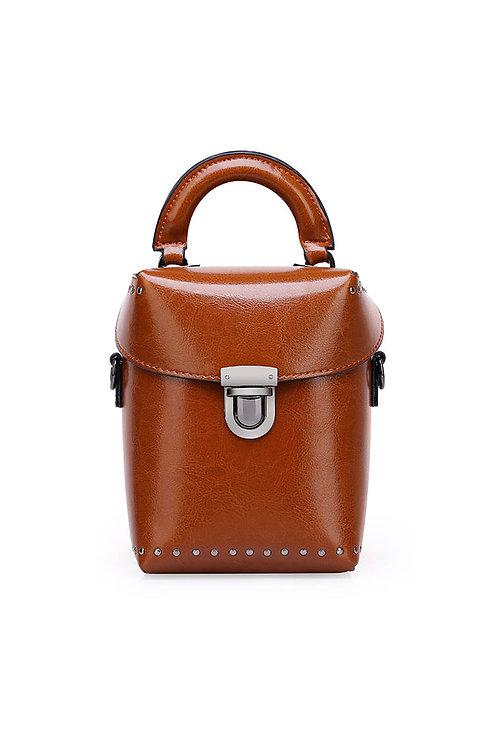 Leather Mini Doctor Bag