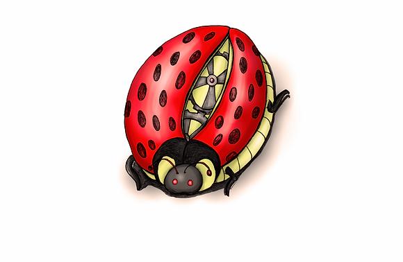 Mechanical Ladybug Printable