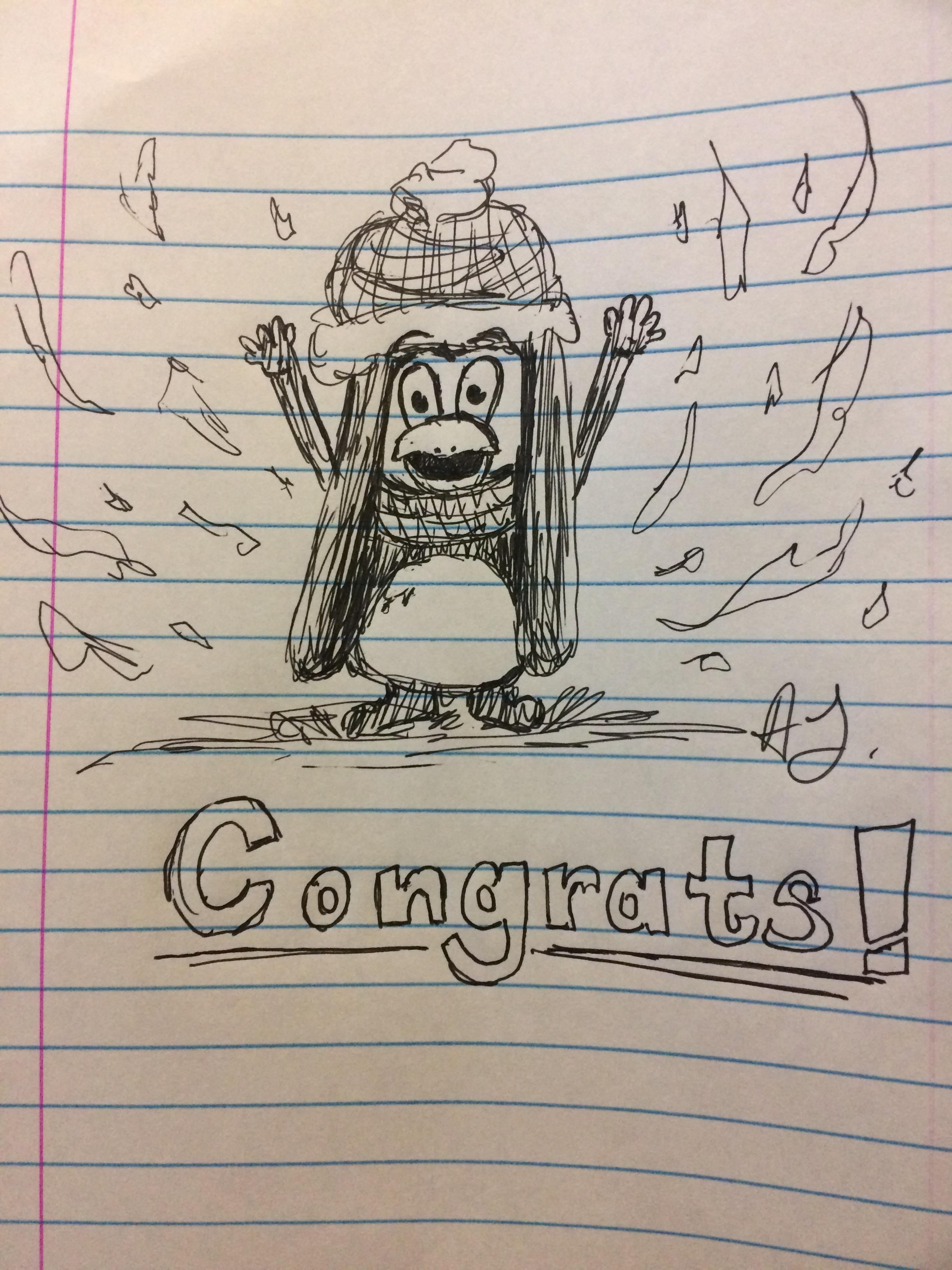 Congrats! Penguin
