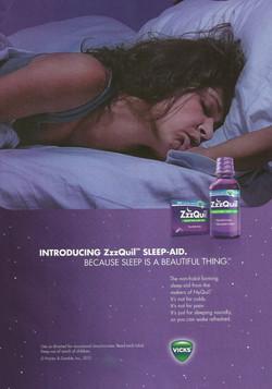 ZzzQuil Original Ad