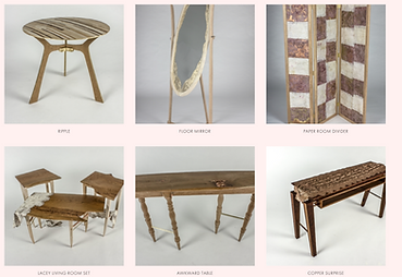 Furniture Design of Aleya Lanteigne
