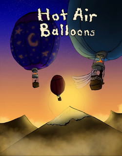 Hot Air Balloons Cover