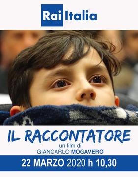 IL RACCONTATORE su Rai Italia