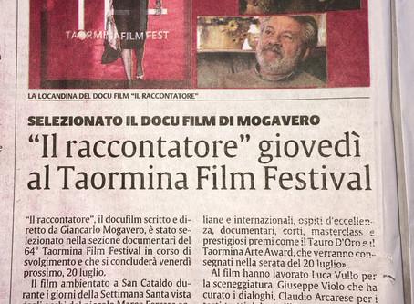 IL RACCONTATORE al 64° Taormina Film Fest