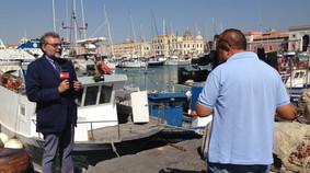 Con Pino Finocchiaro Rai News 24 - agosto 2014