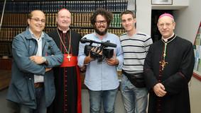 Festival della Comunicazione 2012 con il Cardinale G. Ravasi e il Vescovo Mons. M. Russotto