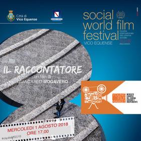IL RACCONTATORE al Social World Film Festival