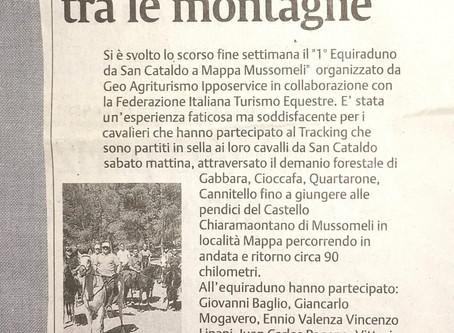 San Cataldo - Mappa in sella ai cavalli tra le montagne