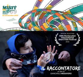 IL RACCONTATORE al 69° Montecatini Short Film Festival