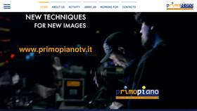 OnLine il nuovo website di PrimoPiano www.primopianotv.it