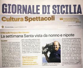 Giornale di Sicilia 27 settembre 2018