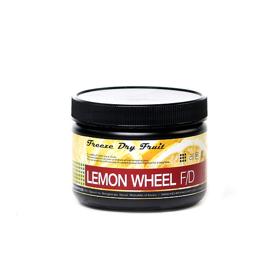 F/D LEMON WHEEL 동결 건조 레몬 휠