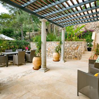 Outside the Living room terrace