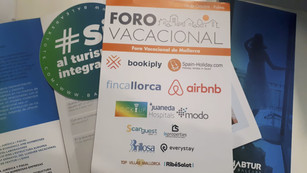 We attended the Foro Vacacional 2018 in Palma de Mallorca