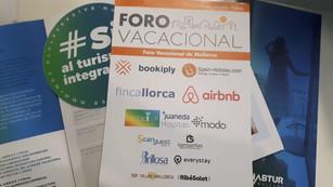 We attended the Foro Vacacional 2018 in Palma de Mallorca