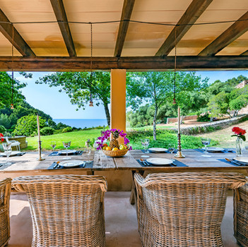 Seaview from the Dining table
