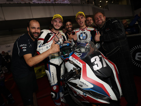 Strong BMW trio for the 2021 season in the FIM EWC.