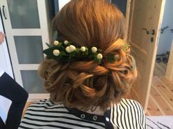 Braut-Frisur