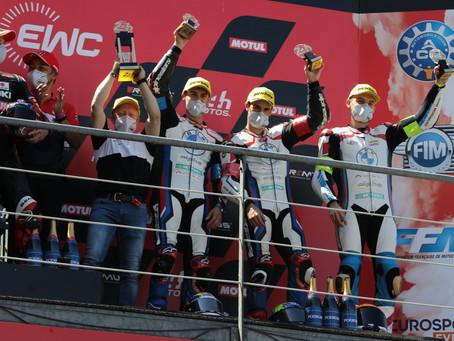 Edelmetall für Reiti und das BMW Motorrad World Endurance Team in Le Mans