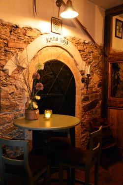 Eingang in separaten Lounge-Bereich