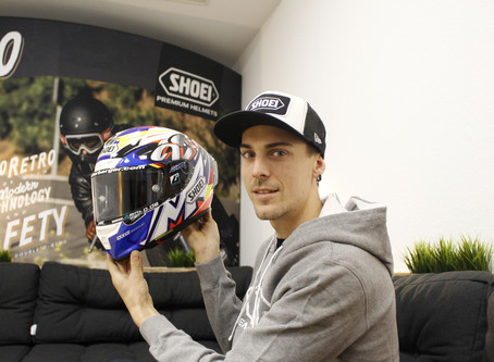 Markus Reiterberger starts the new season with a new helmet