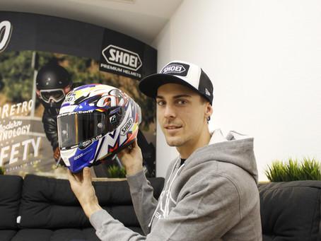 Markus Reiterberger starts the new season with a new helmet
