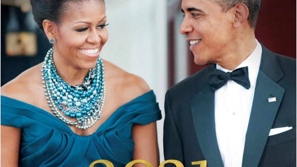The Obamas 2021 Wall Calendar