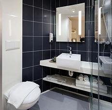 Salle de bains moderne Hôtel