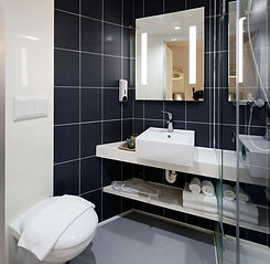 Modern Hotel Bathroom