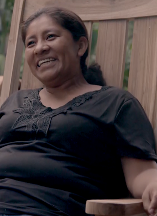 Bianca in Nicaragua as part of EBY (Empowered by You) women's month campaign
