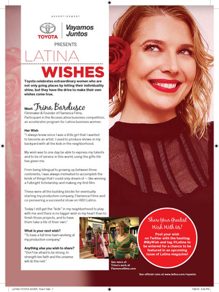 In Latina Magazine!