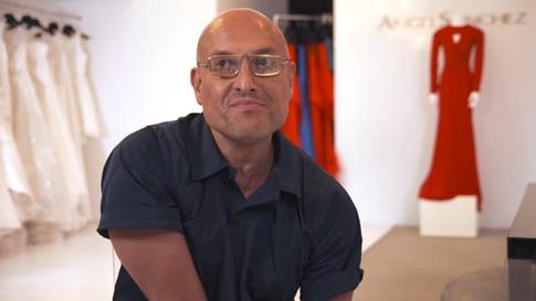 Celebrity fashion designer, Angel Sánchez