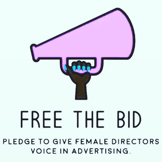 Featured as a woman director on Free the Bid!