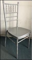 Metal Chiavari Chair with white soft cushion (4cm)
