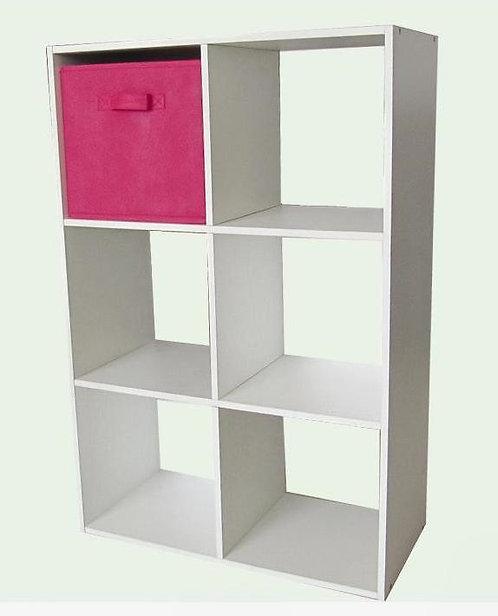 London Bookcase 6 Cube