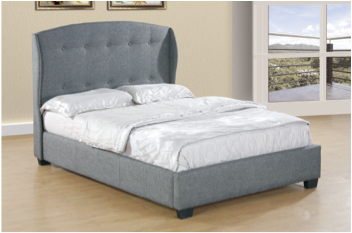 Theoule Upholstered PU Bed Queen