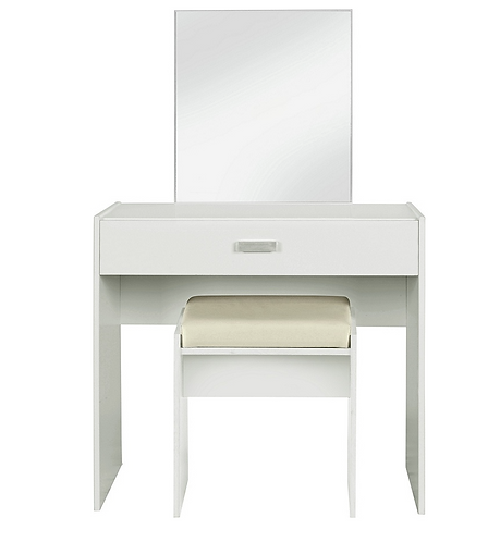 London Dressing table with mirror and chair