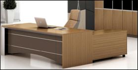Mercury Executive Desk FOHRAS02
