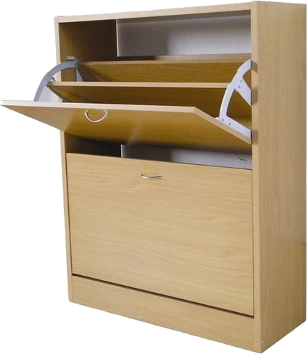 London Shoe Cabinet 2 tier