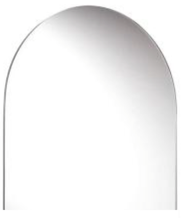Dome 70cm x 50cm Bevel Mirror