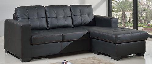 Byron Bonded PU/PVC Corner Sofa