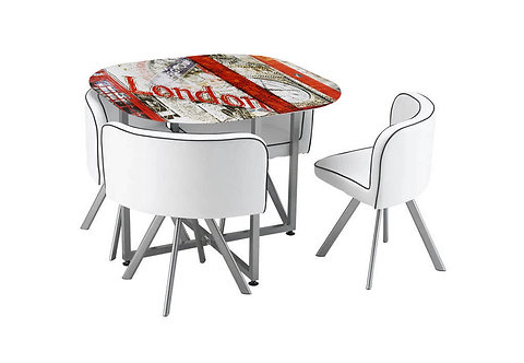 MELI Compact Dining Set - London