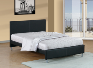 Nice Upholstered Bed Double