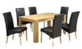 London Dining Table & Chair from N$650.00