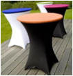 Spandex Cocktail Table Cloth